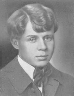 С. А. Есенин. 1919